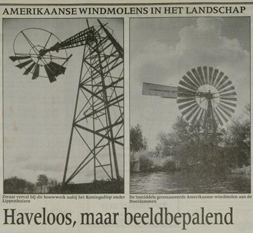Amerikaanse windmolens