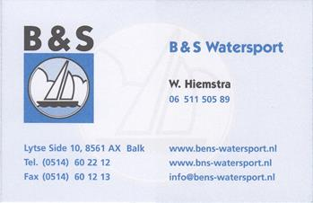 B en S watersport