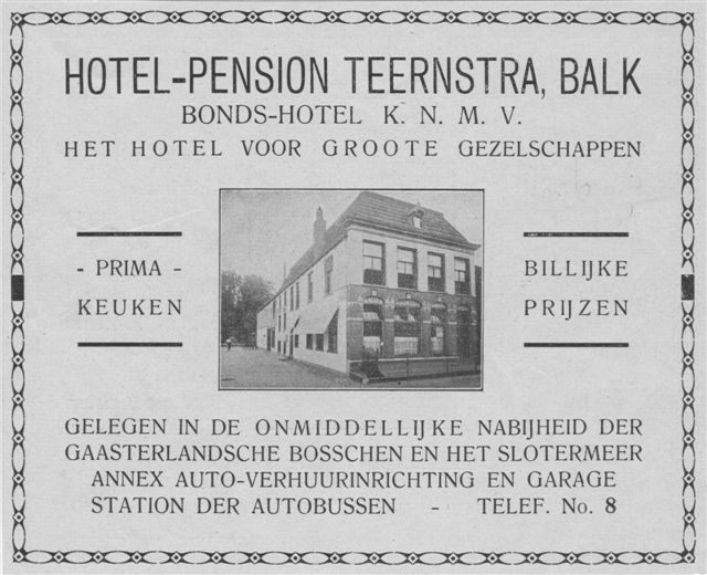 advertentie 1926